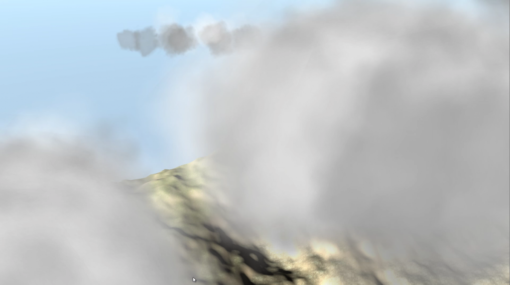 Thermal and Cloud system demo - Volumetric Clouds